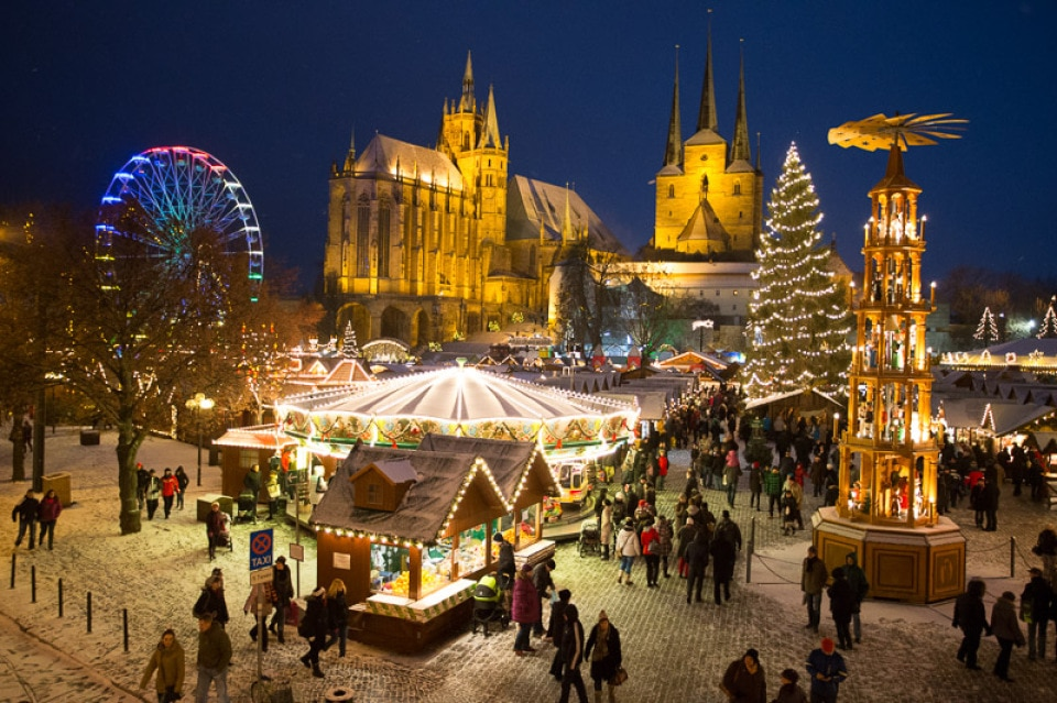 Weihnachtsmärkte in Erfurt: Und plötzlich sind es 22