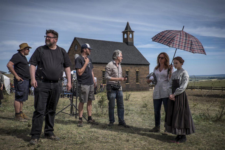brimstone film set dreharbeiten mühlhausen weinbergen thüringen dakota fanning guy pearce