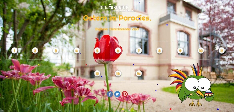 JenaKultur legt einen ersten digitalen Osterkalender auf.